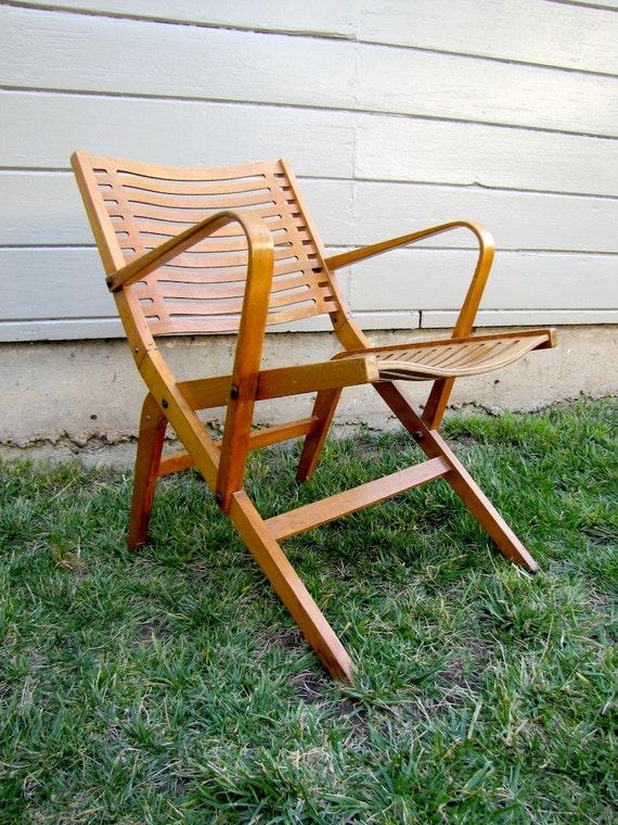 Terrific Rex Armchair Niko Kralj Chair Rare Early Version Bent Plywood Slatted Lounge Midcentury Vintage Furniture 50S 60S Seating Theyellowbook Wood Chair Design Ideas Theyellowbookinfo