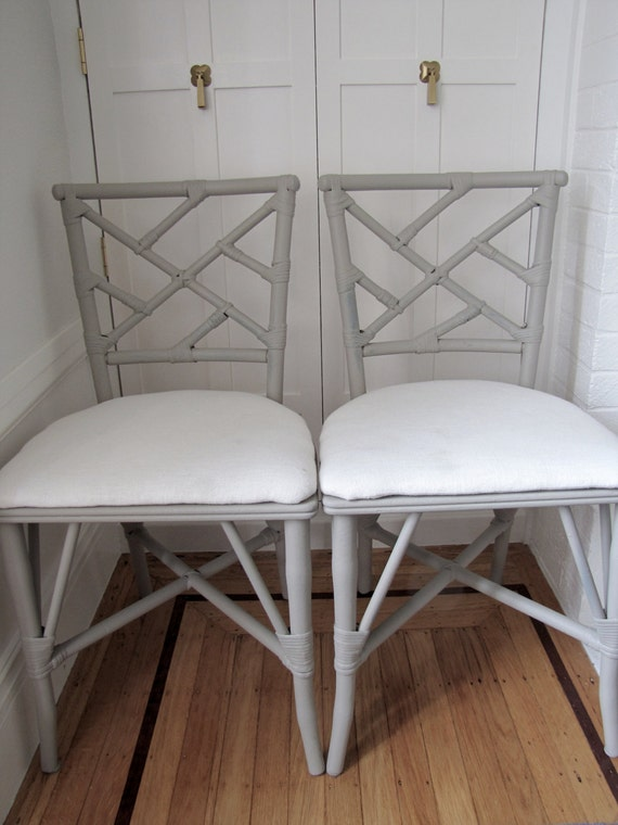 Set Of 4 Chinese Chippendale Chairs Vintage Chairs Antique Etsy