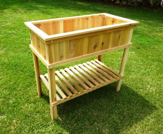 Downloadable Woodworking Plans   Cedar Raised Garden Planter. Illustrated  Plans With Photos!