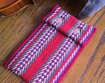 Metis Arrow Sash Fleece Pouch with Belt Loop