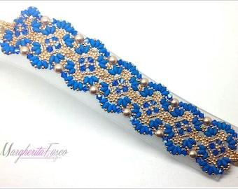 How to makeTangeri bracelet. Bead tutorial, pdf file.