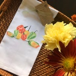 Hot Peppers, Kitchen Towel, Southwest theme, Cotton Towel, Gourmet Chef, Gourmet Kitchen, Produce, Garden, Cinco de Mayo, Chili, Recipe
