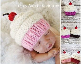 d4df4ca4ae3 Baby cupcake hat
