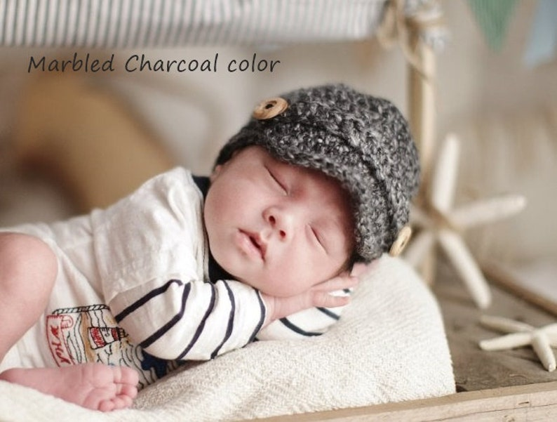 52224158 Baby Newsboy Hat Newborn Newsboy Hat Baby Boy Hat Baby Boy | Etsy
