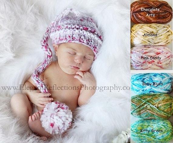Baby Knit hat Newborn Hat Knit Baby Hat Baby Elf Hat Baby  135860edad9e