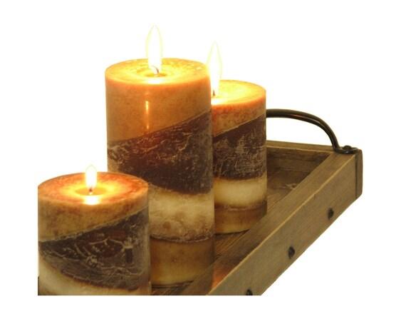 Wunderbar Tisch Kerze Tablett Lange Schmale Tabelle Herzstück Tablett | Etsy