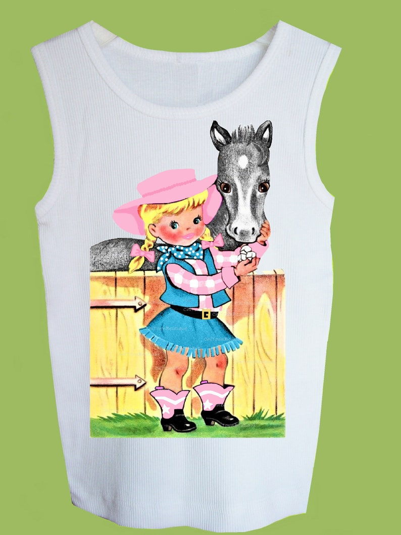 Ladies T-Shirt COWGIRL COWBOY CARNIVAL CARNIVAL S; M NEW