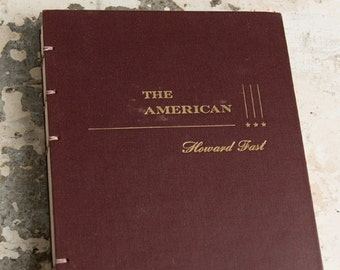 1946 THE AMERICAN Vintage Notebook Journal