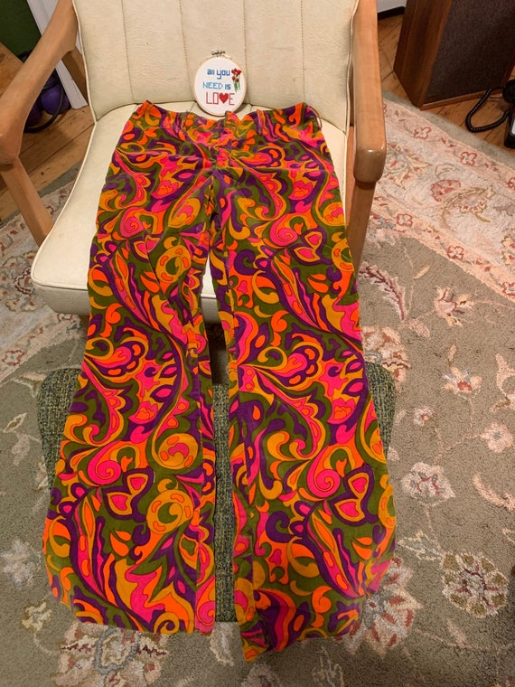Vintage Psychedelic Bell Bottoms