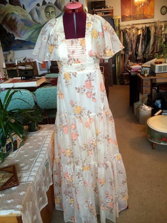 Vintage Nu-Mode floor length dress