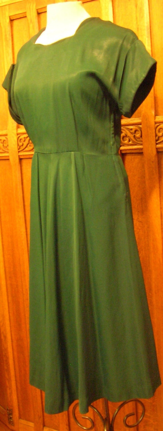 1940's Vintage Sports Wear Evergreen Gabardine Dre