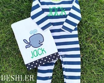 Baby Boy Gift Set, Personalized Baby Boy Gift, Personalized baby boy gift set, monogram baby boy gift, baby boy gift, custom baby gift set