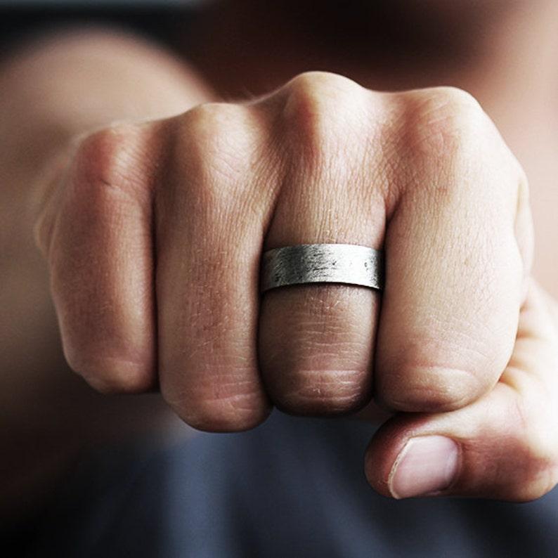 Mens Wedding Band Mens Wedding Ring Wedding Band Wedding Ring Mens Ring Unique Wedding Ring Men/'s Wedding Ring Silver Wedding Band