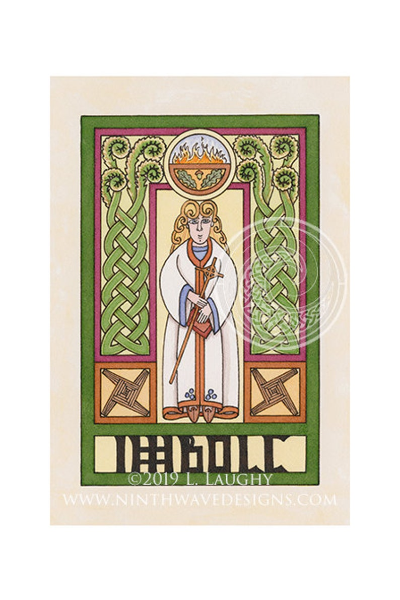 Imbolc Cross-Quarter Day Limited Edition Signed Archival Fine image 0