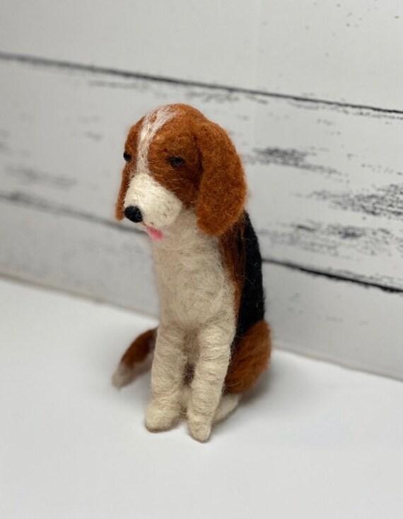 Dog lover canine Wool figurine sculpture Kawaii needle felt labrador puppy dog READY TO SHIP