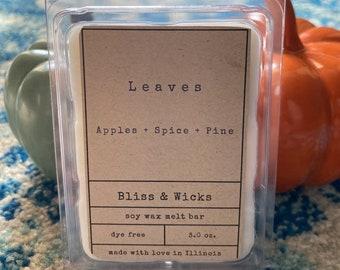 Leaves Fall Soy Wax Melts