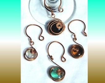 ECO Charm Wine Glass Art - Set of 4
