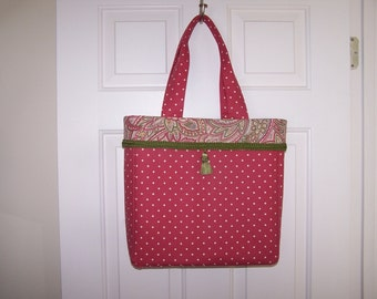 Pink Diamond & Pasley Large Tote