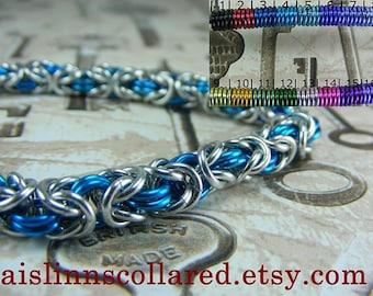 Byzantine Silver Base Bracelet