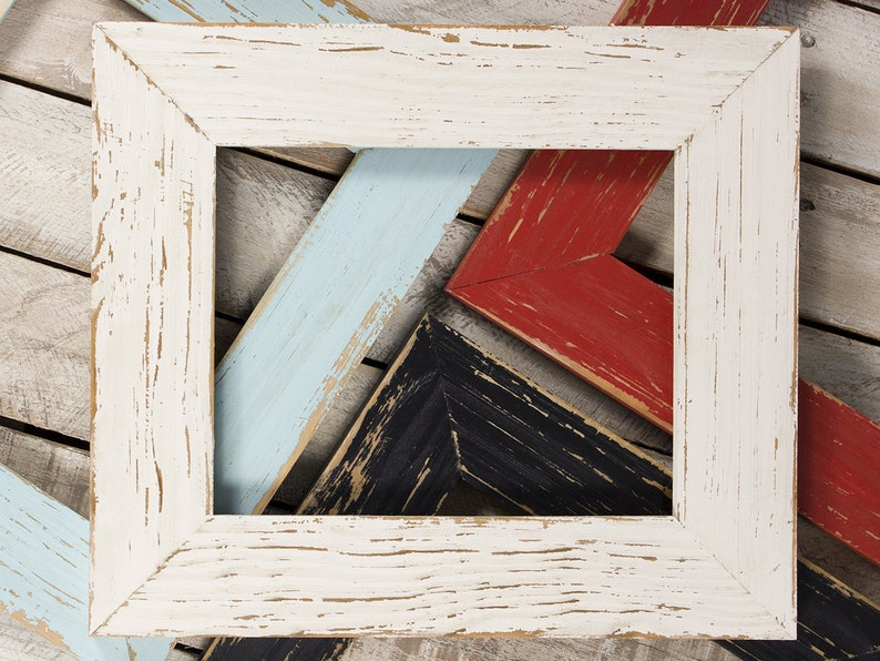 Aged Rustic Picture Frame 8x10 Frame 11x14 Frame 16x20 image 0