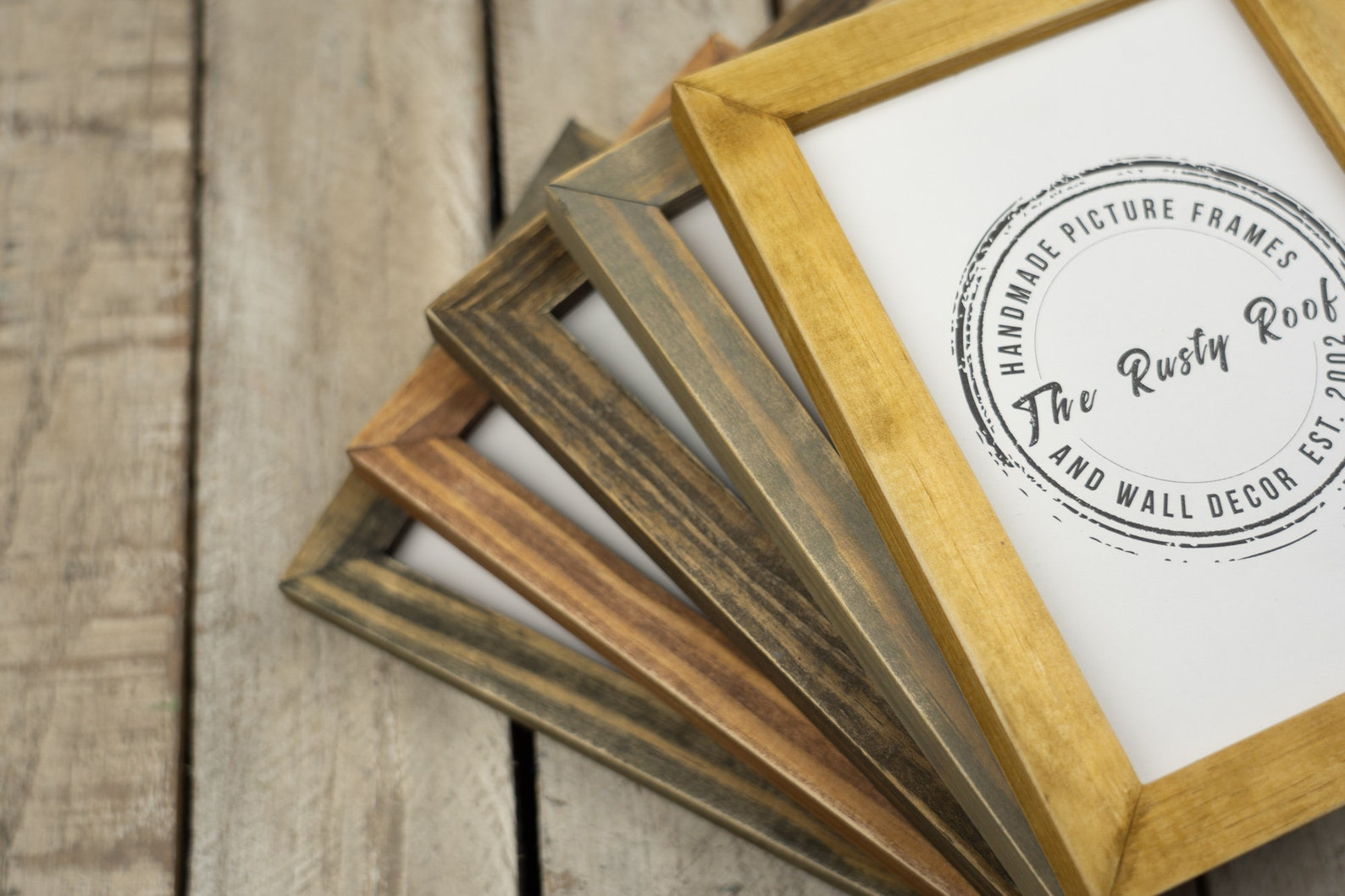 Handmade Rustic Picture Frames