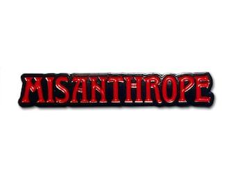 Misanthrope Lapel Pin