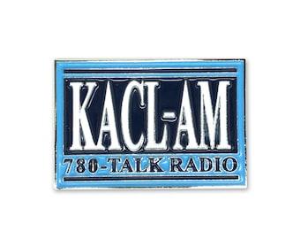 KACL Frasier Enamel Pin - Frasier Pin - KACL Pin - Frasier Crane Pin - KACL am 780 Talk Radio