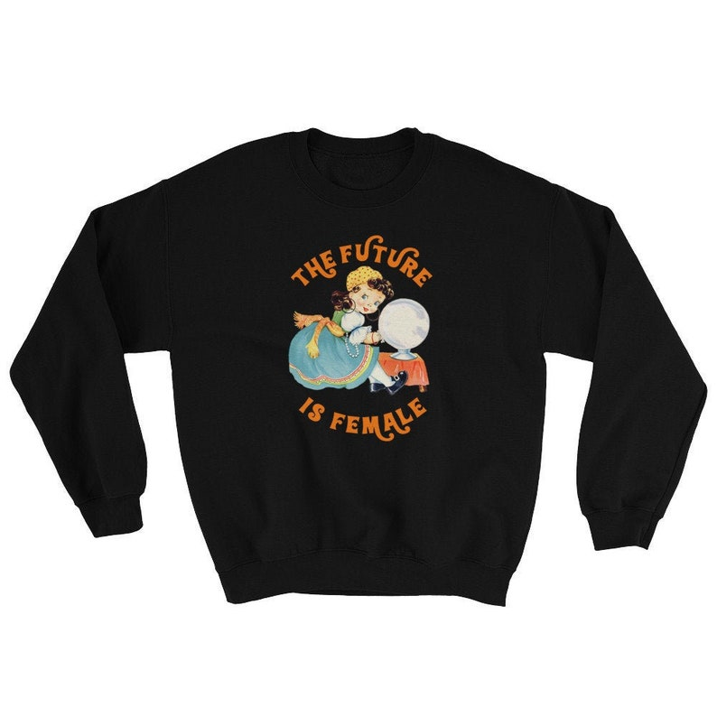 The Future is Female Retro Sweatshirt  Vintage Hoodie  image 0