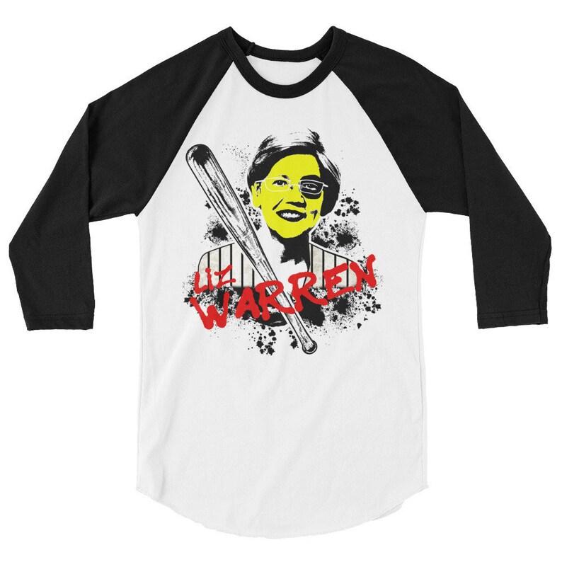 Elizabeth Warren Warriors Baseball Shirt  Baseball Furies  image 0