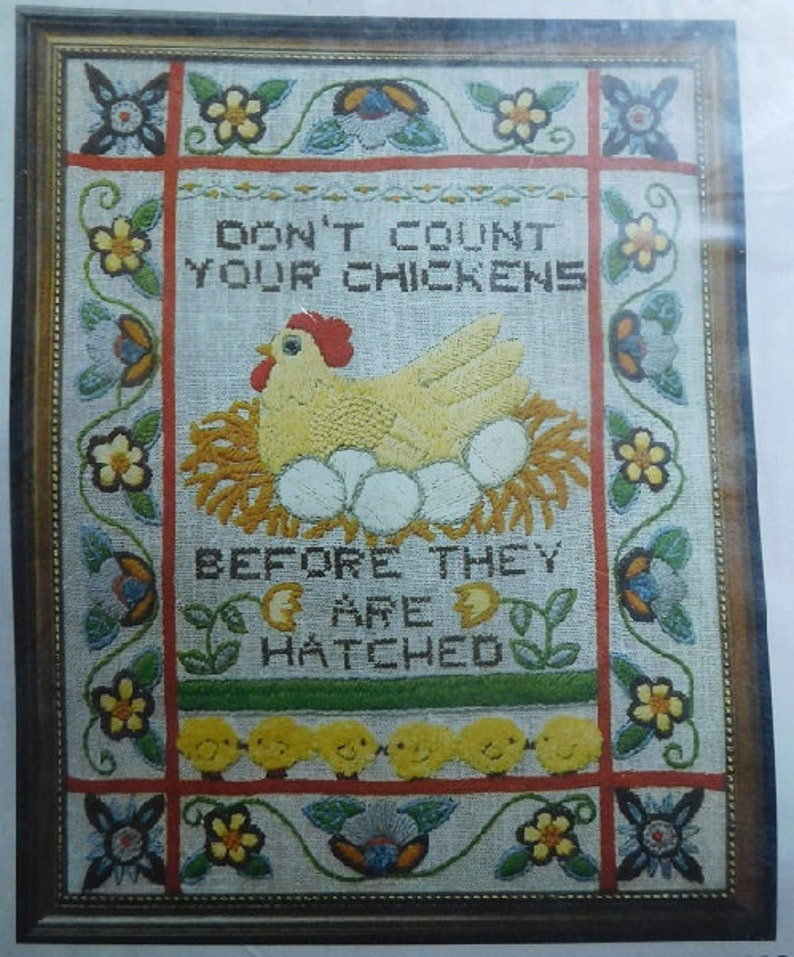 Dimensions Needlepoint Kit The Best Thing Child Time Sampler Vintage 1979 new