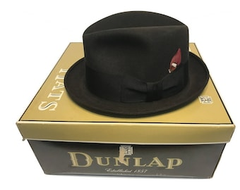 2f8291e1326da Vintage Men s Adam Brown Derby Hat with Red Feather