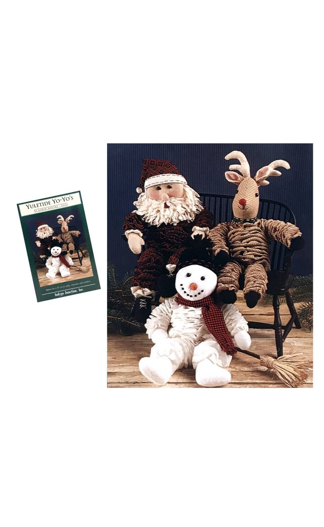 Yo Yo Schnittmuster Muster Santa Puppe 14 Zoll Rentier Puppe | Etsy