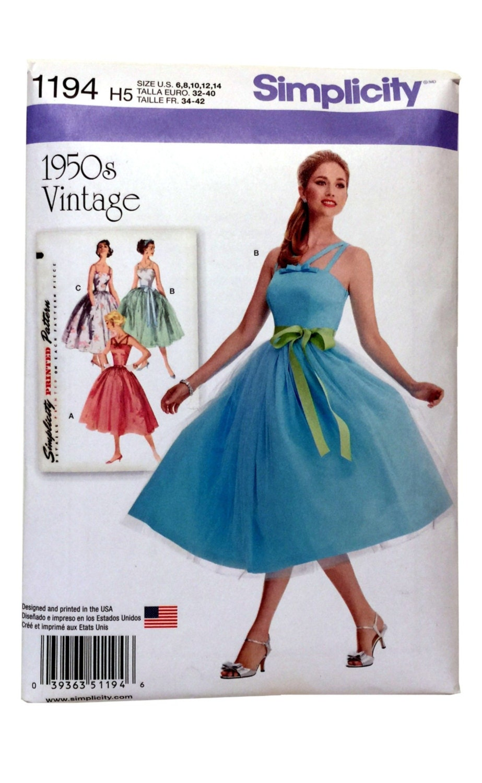 Tulle Bridesmaid Dress Pattern, Tulle Prom Dress Pattern, DIY Tulle ...