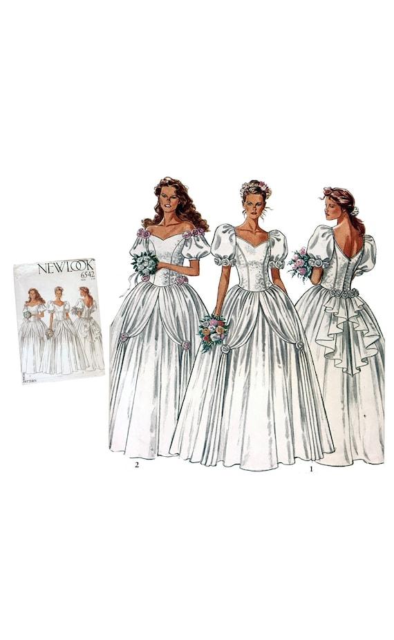 Vintage Braut Kleid Muster Hochzeit Kleid Muster Brautkleid | Etsy