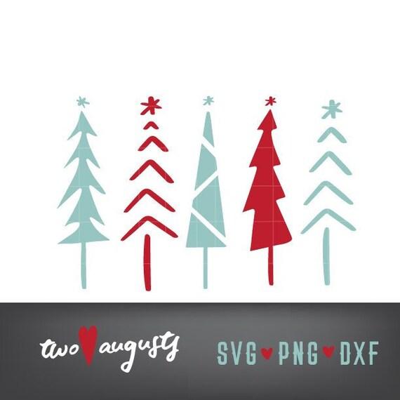 Tall Skinny Christmas Tree Silhouette.Tall Skinny Christmas Trees Set Svg Dxf Png Christian Cut File Design Cricut Silhouette Trendy Jesus Tree Whimsy Tree Artsy