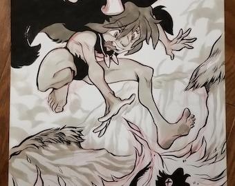 Inktober 09- Wild Witch