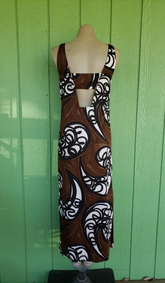 Vintage Hawaiian Maxi Dress, Malia For Liberty Ho… - image 6