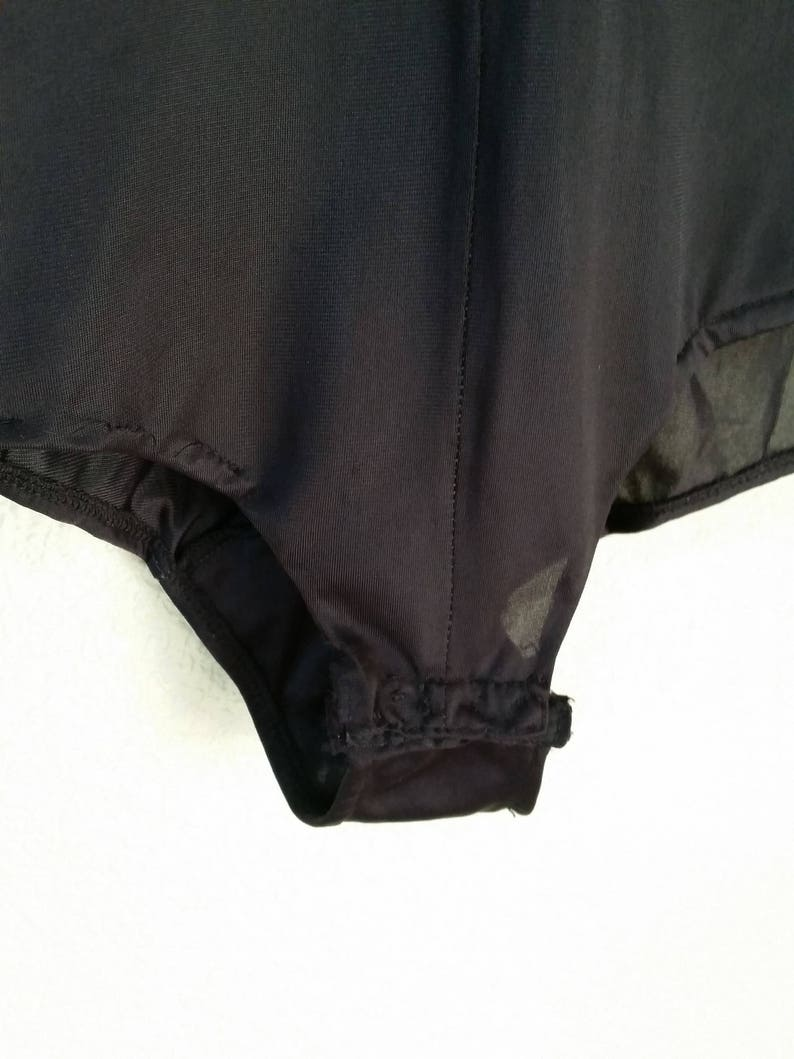 1970/'s Pirate Blouse #46585 Vintage Body Shirt with Ruffles MediumLarge
