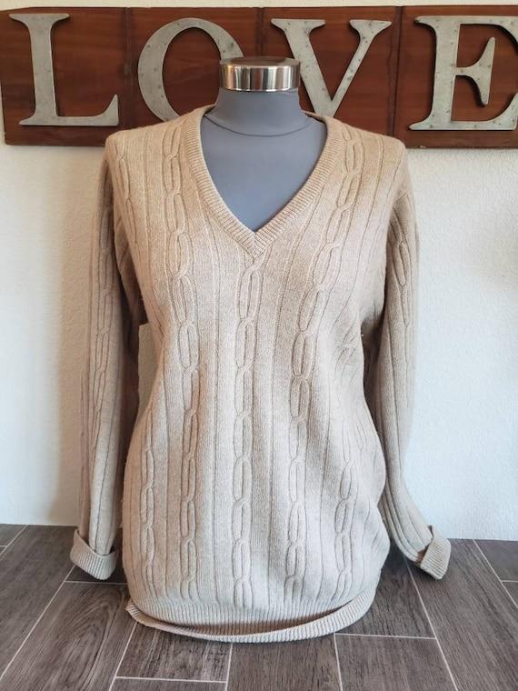 Vintage Colquhoun Cashmere Pull Over Sweater | Men