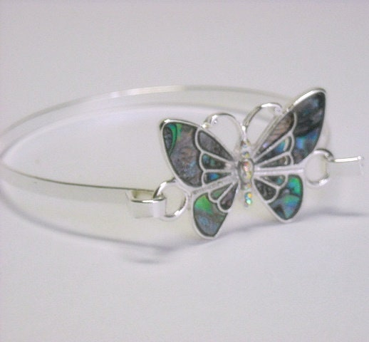 Abalone,Butterfly,Bangle,Bracelet,-,Tropical,Style,Jewelry,Symbolic,Animal,Insect,Dragonfly,Silver,butterfly_bangle,abalone_butterfly,beach_tropical,bangle_bracelet,minimalist_bracelet,symbolic_animal,animal_jewelry,white_brass,dragonfly,insect_bracelet,boho_hippie,butterfly_bracelet,gift_for_her,Brass