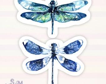 Dragonfly Wings vinyl sticker