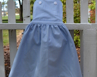 Girls Dorothy Wizard of Oz Inspired Dress-up Apron
