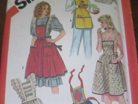 Tablier tablier modèle 1982 2 Styles Vintage pleine ...