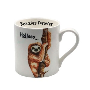 "Cup Mug Sloth /& Saying /""Weck Me When It/'s Friday/"" Coffee Mug Gift Ts905"