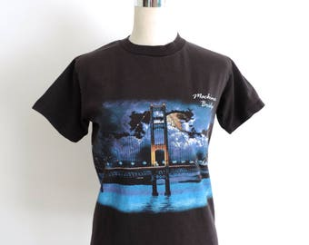 Mackinac Bridge T-shirt Small
