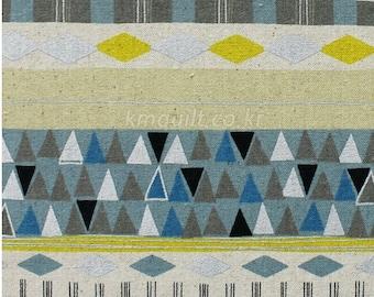 "Linen 1/2y Japanese Linen Cotton Blended Fabric LECIEN 40814-60/ Medium weight high quality linen half yard 18""x44"""