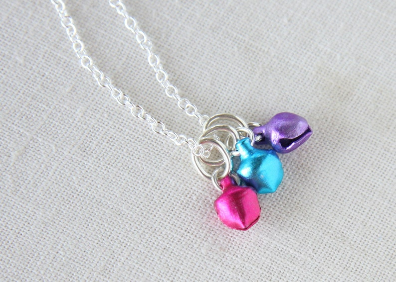 Christmas Party dancer bell Charm Custom Jingle Bell Pendant Mixed Colors Holiday Jewelry Musical Fun Colorful unique gift for women