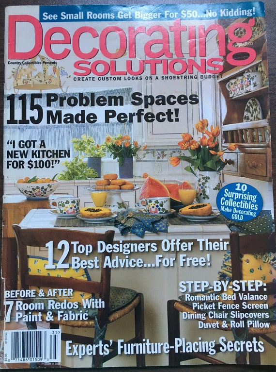 Decorating Solutions Magazine 2003 Country Style