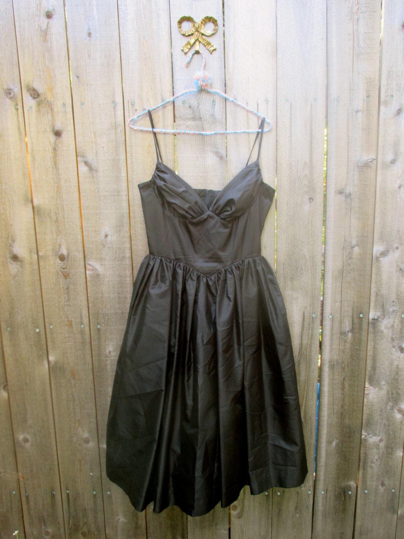 Black Dress Tulle Underskirt Elegant Dress Steampunk Dress ...