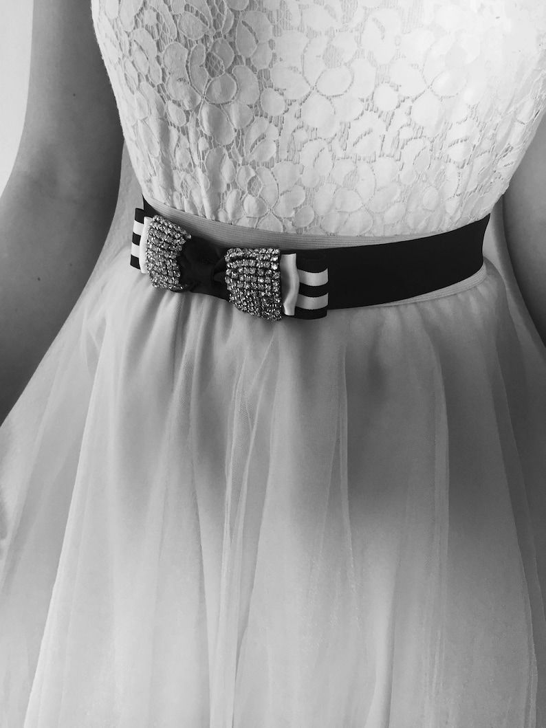 Bow Dress Belts Wedding Accessories